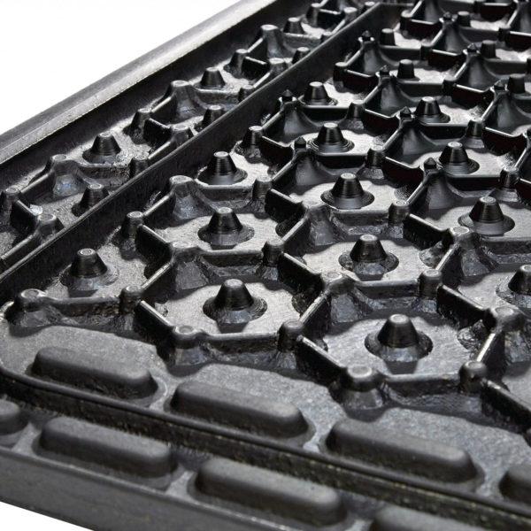 Kraiburg KKM LongLine rubber stall mat roll sealing lip (bottom).
