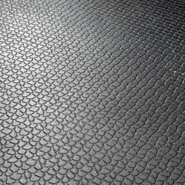 Close up pictures of Kraiburg KURA rubber flooring.