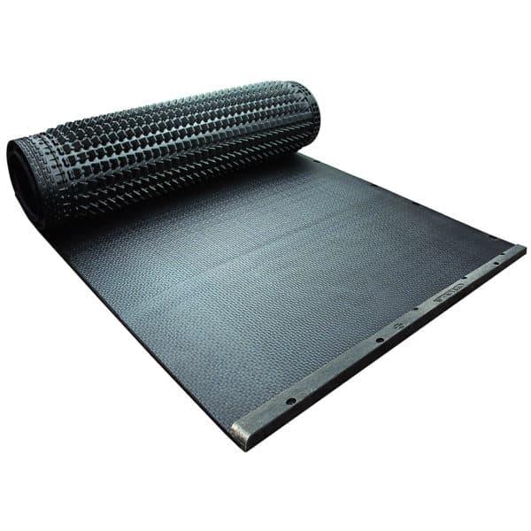 Kraiburg WELA LongLine rubber stall mat roll.