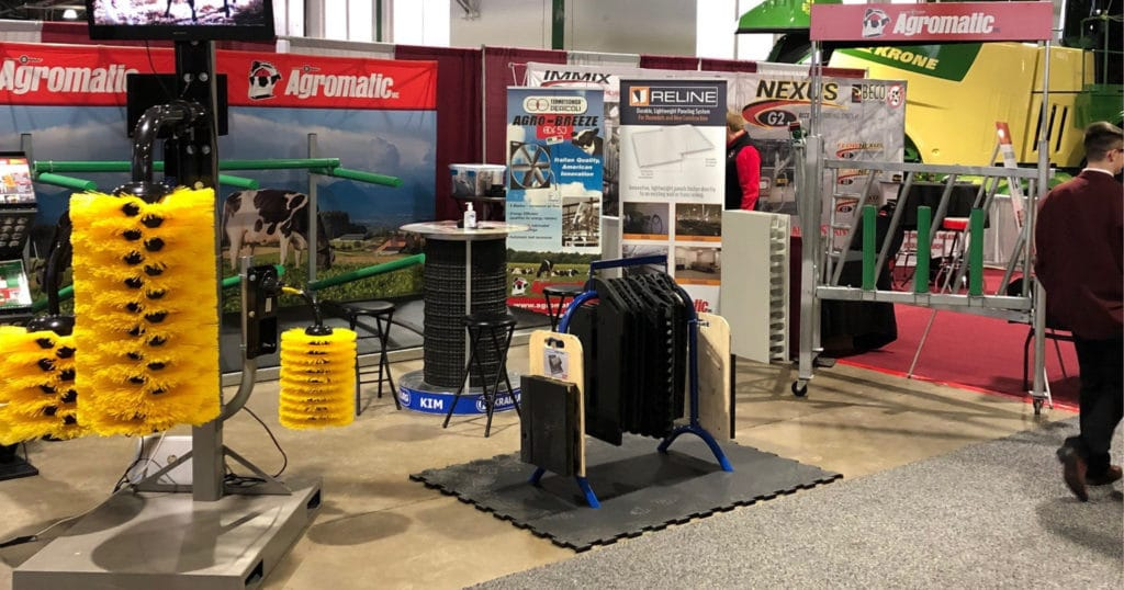 Agromatic Booth at New York Farm Show