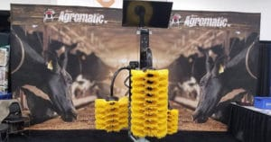 PDPW Annual Business Conference cow brush display.