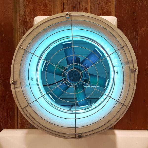 """16"""" direct drive fan with LEDs."""
