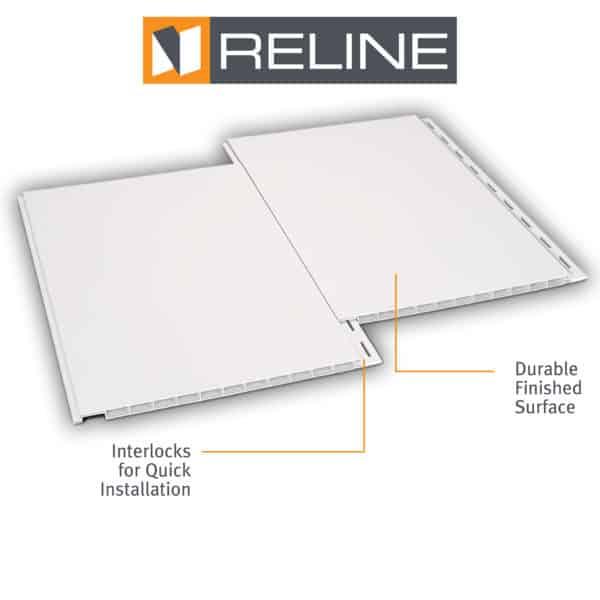 RELINE interlocking wall system.