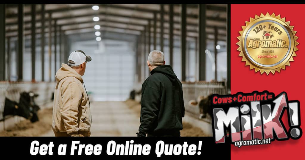 Get a free quote from Agromatic Inc.