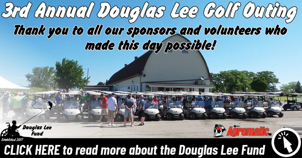 3rd Annual Douglas Lee Gold Outing banner.