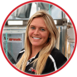 Whitney Birschbach: Agromatic inside sales.