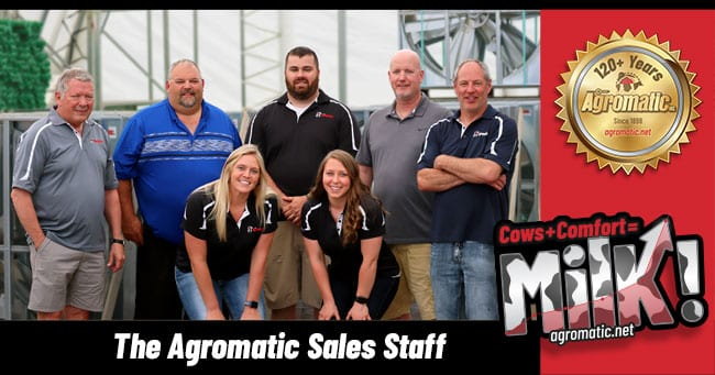 The Agromatic Sales Staff 2019.