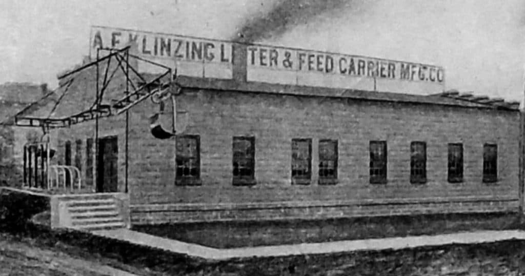 A F Klinzing Litter & Feed Carrier Mfg. Co. - Factory #2 St. Cloud, WI.