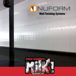 NUFORM Wall Finishing Systems available at Agromatic!