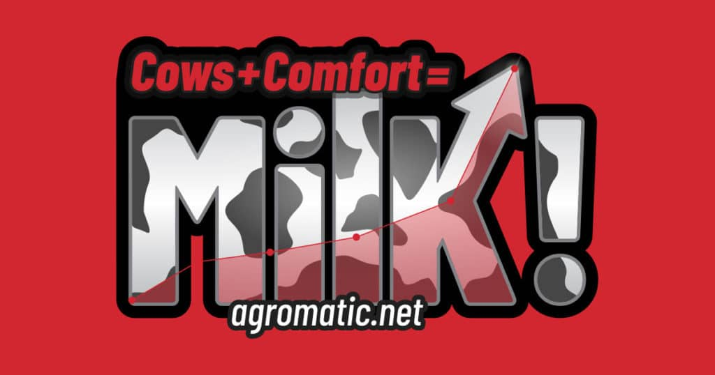 Agromatic Inc.: Cows + Comfort = Milk! featured image.