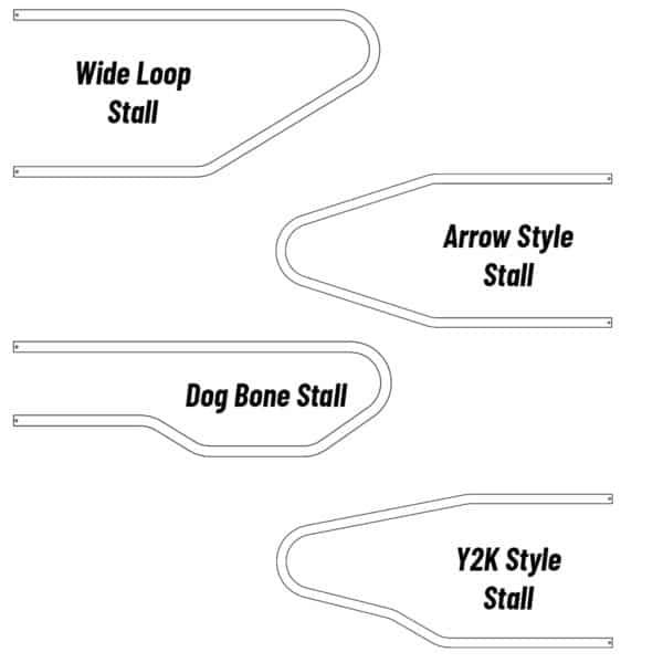 Agromatic Steel Freestall Loops