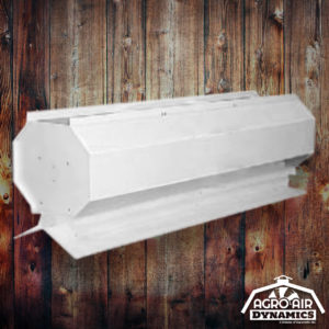 Agro Air Dynamics: Barn Linear Roof Vent.