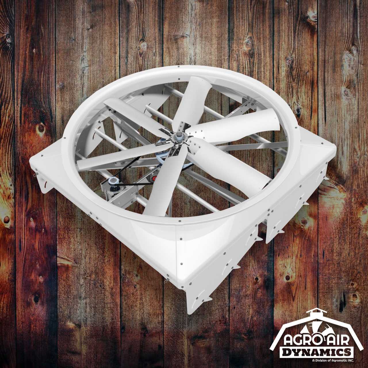 Cyclone Fans For Sale   Agro Air Dynamics   Recirculating Fans