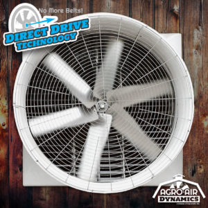 Agro Air Dynamics Direct Drive Barn Exhaust Fans.