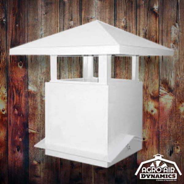 Agro Air Dynamics: Barn Chimney roof vent.