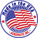 Agromatic brand is Made in the USA.