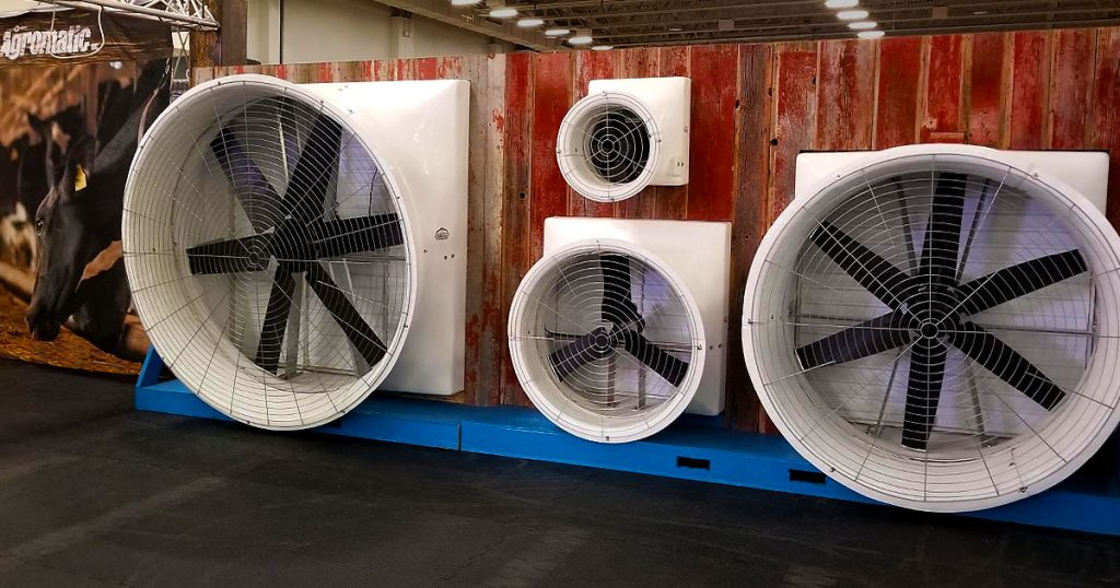 World Dairy Expo 2018 PMAC Direct Drive Fans reveal.