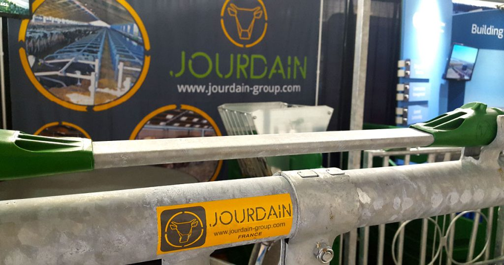 Jourdain Group (France) expo booth at World Dairy Expo 2018.