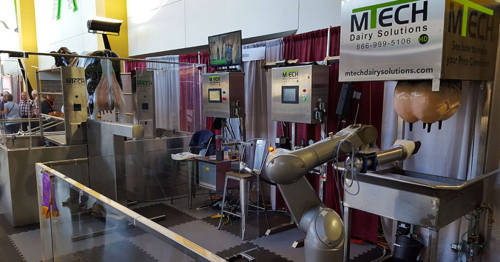 MTECH Dairy Solutions at World Dairy Expo 2018.