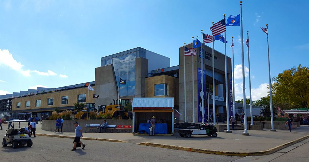 World Dairy Expo 2018 main exhibit building.