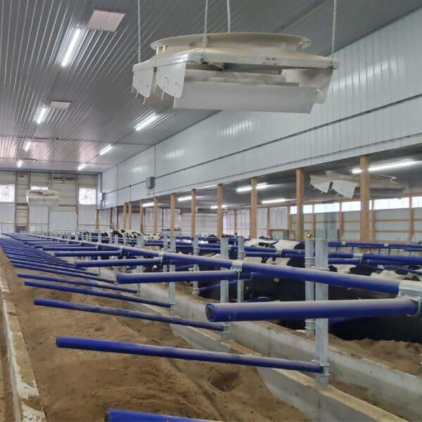 New blue Agromatic FlexSTALLS