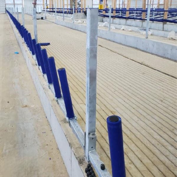 Newly installed Agromatic FreeFEED System