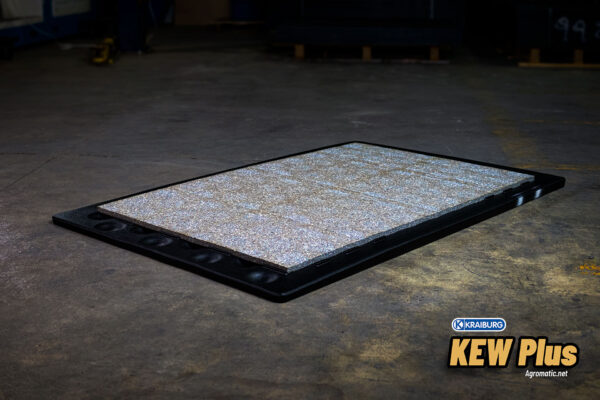 KRAIBURG KEW Plus 3-layer stall mat middle foam inlay.