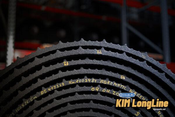 KRAIBURG KIM LongLine stall mat roll side view.