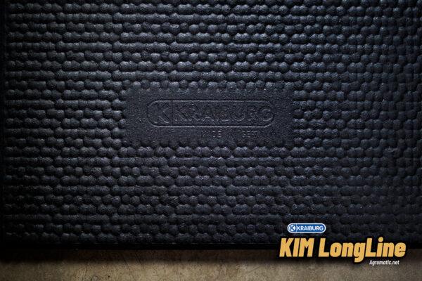 KRAIBURG KIM LongLine stall mat roll top surface logo.