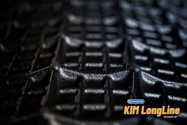 KRAIBURG KIM LongLine stall mat roll underside.