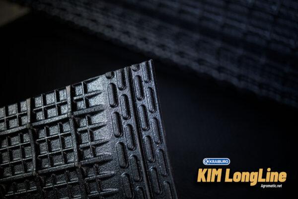 KRAIBURG KIM LongLine stall mat roll underside edge.