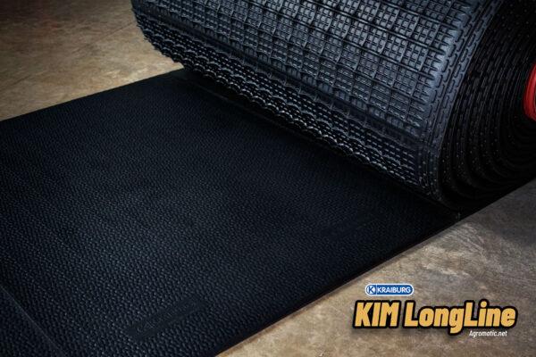 KRAIBURG KIM LongLine stall mat rolled out.